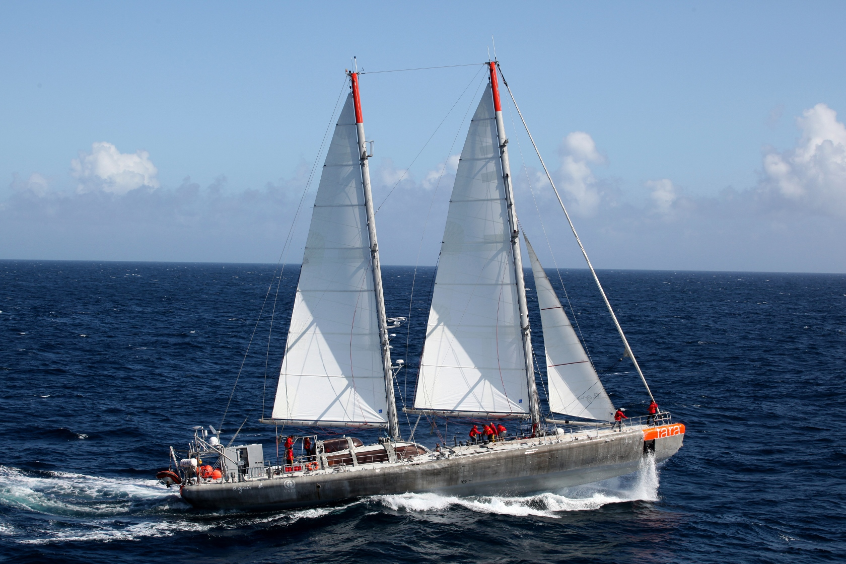 36M Yacht 'Tara' Hauls Out at Oceania Marine Shipyards - Teaser Image