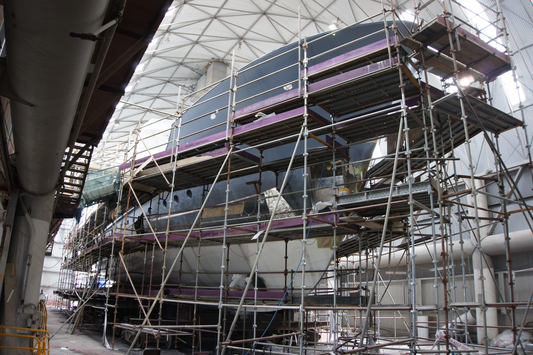 Oceania Marine Refit Services Launches with Major Refit for 37M Motor Yacht Dardanella - Teaser Image